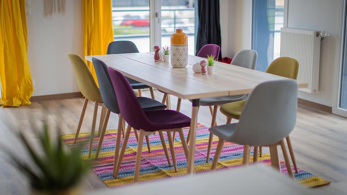 Colocation Pompignac salle à manger
