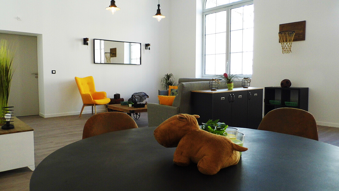 Habitat Inclusif - Homnia - Lourdes - Décoration